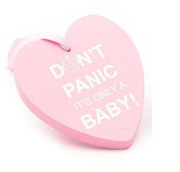 Placuta Don't panic pink
