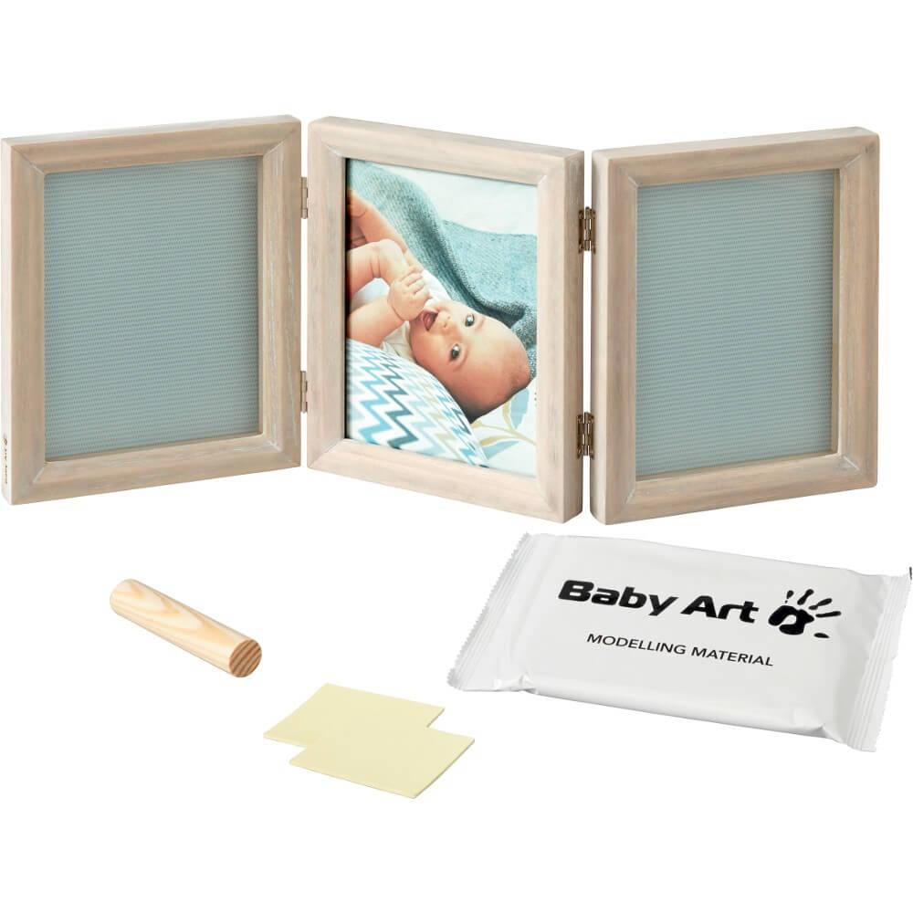 Baby Art - Rama foto dubla White Stormy