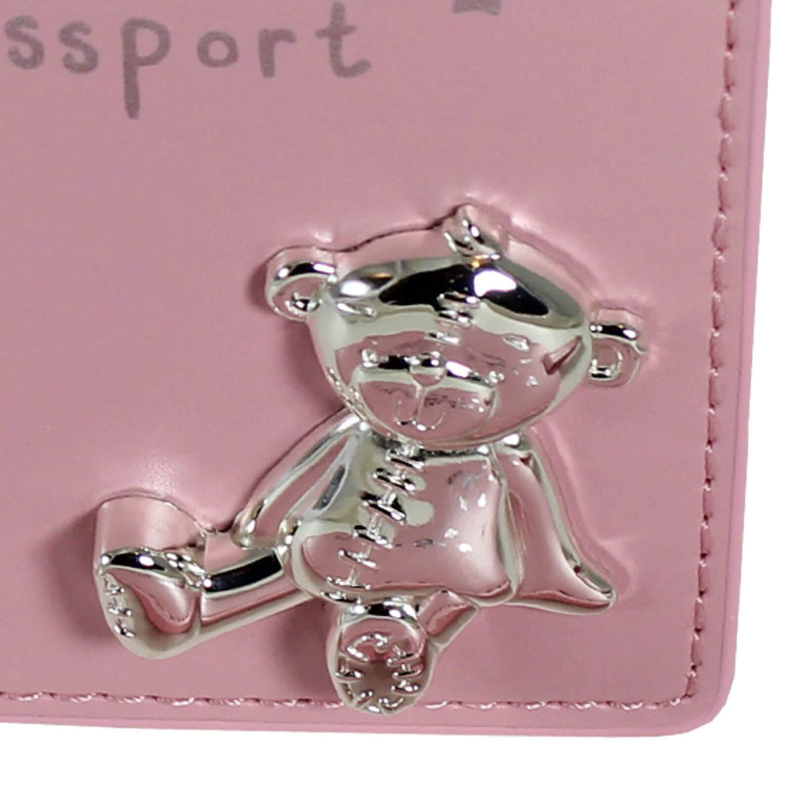 Button Corner - Set pentru prima calatorie a bebelusului My First Passport - pink