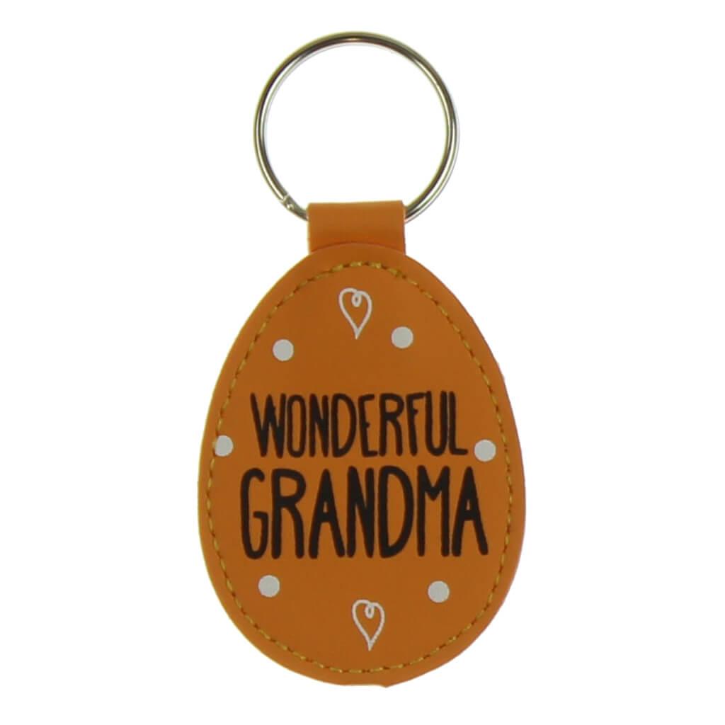 Eggcellent - Breloc pentru chei Wonderful Grandma