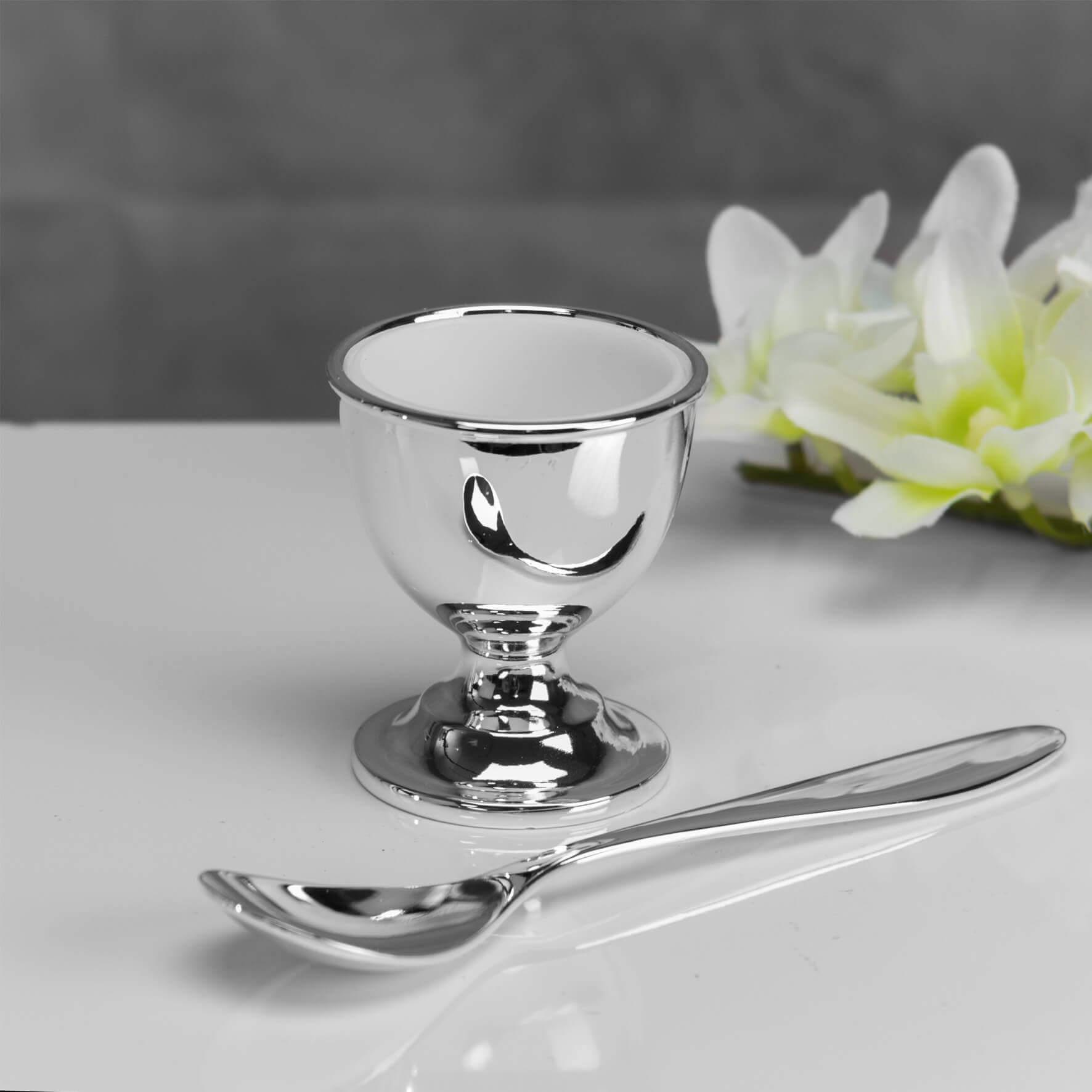 Bambino by Juliana - Set argintat mic dejun