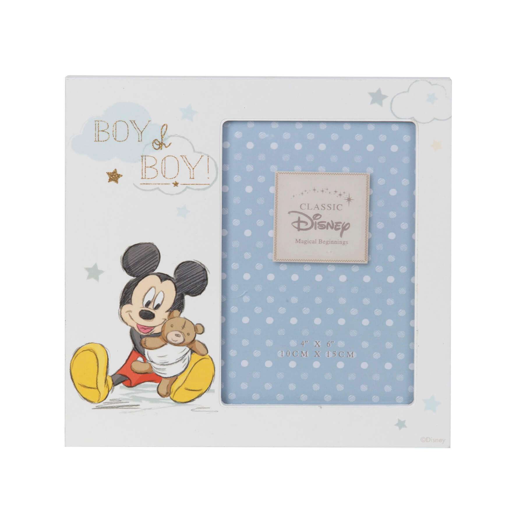 Disney Magical Beginnings - Rama foto Mickey Boy oh Boy