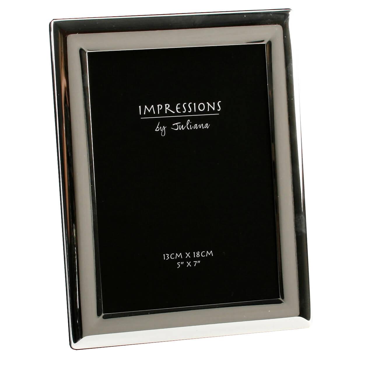 Juliana - Rama foto argintata 13 x 18 centimetri