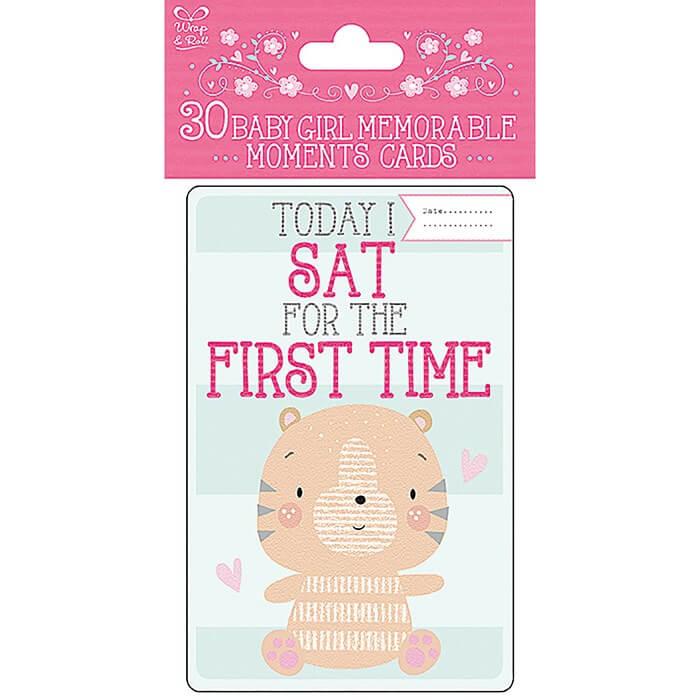Cartonase Baby's First fetita