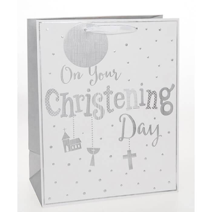 Punga de cadou medie Christening Day