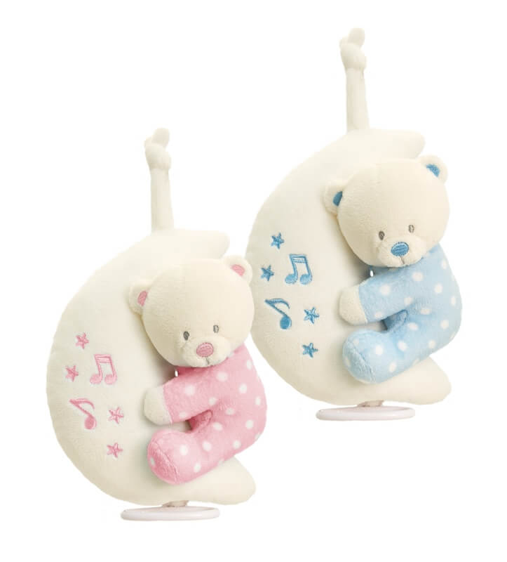 Keel Toys - Ursulet muzical pe luna