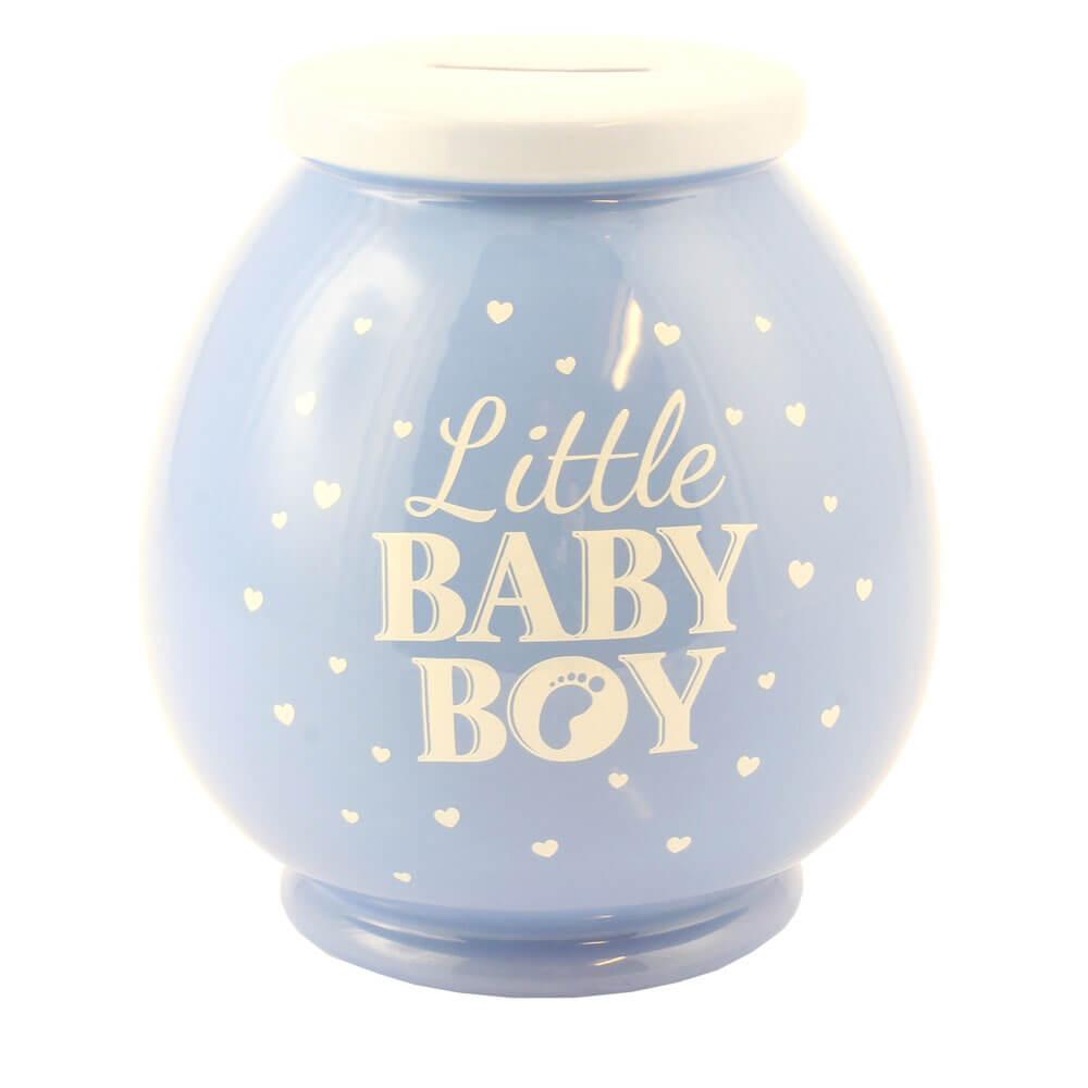 Pusculita bleu Little Baby Boy