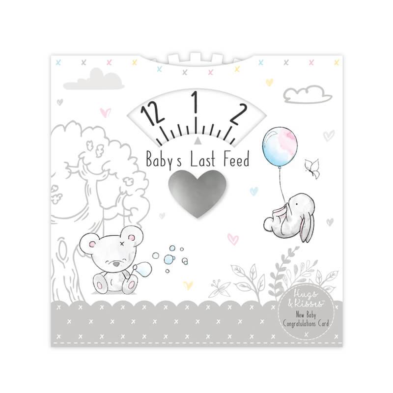Hugs and Kisses - Indicator pentru programul de masa bebelusului