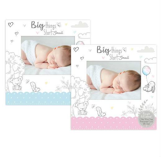 Hugs and Kisses - Rama foto carton Big Things Start Small