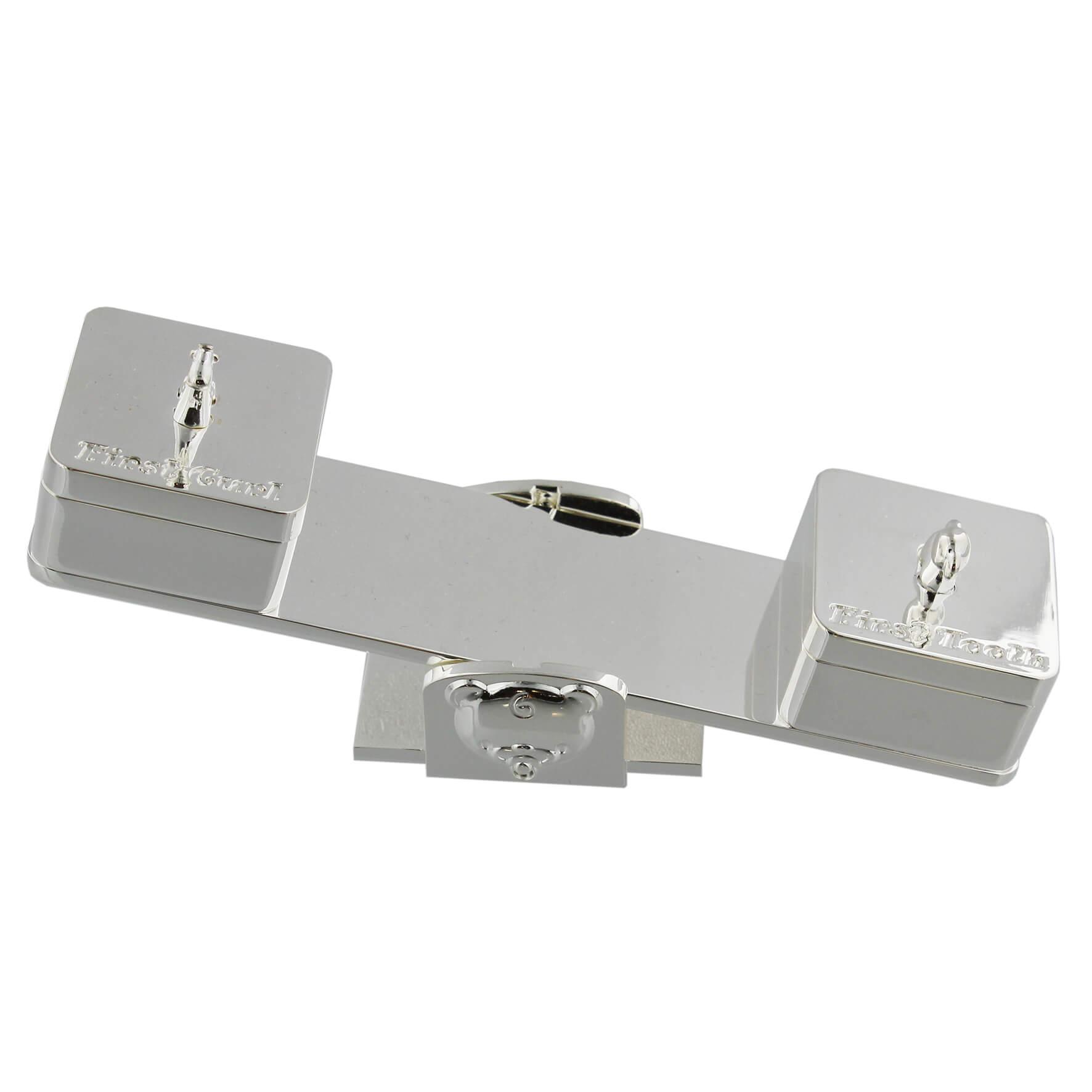 Set cutiute pentru suvita si dintisor balansoar argintat