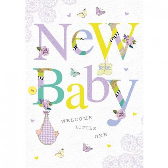 Felicitare New Baby unisex