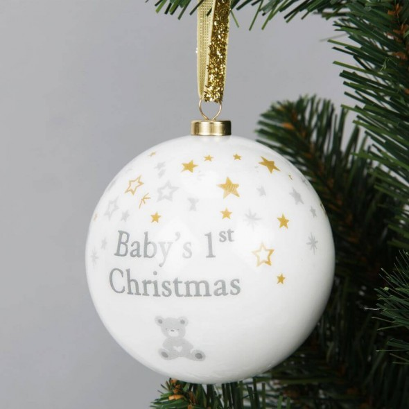 Bambino by Juliana - Glob din polifoam First Christmas