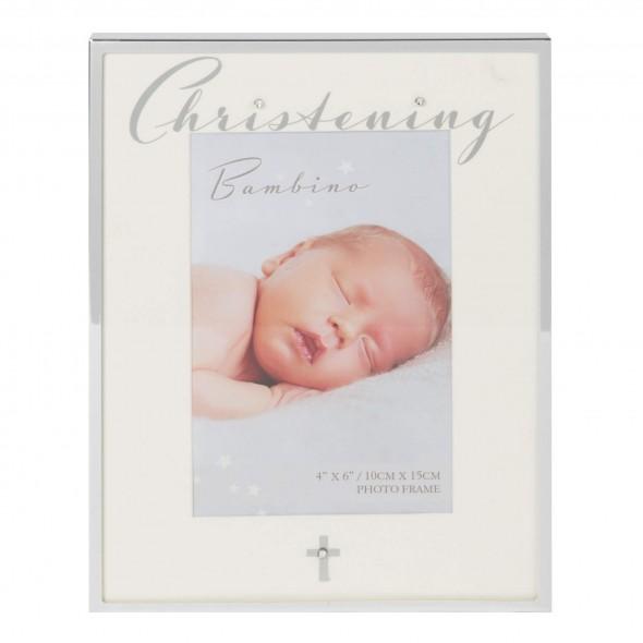 Bambino by Juliana - Rama cu margini argintate Christening