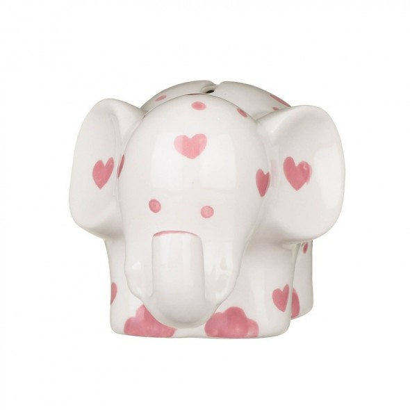 Pusculita elefant roz My First Money Bank