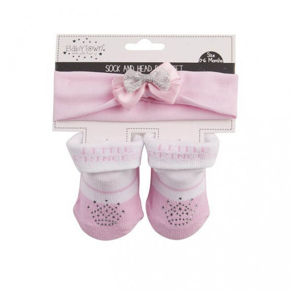 Set cadou bentita si sosete - Little Princess