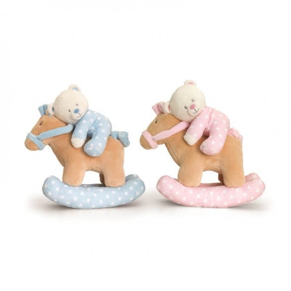 Keel Toys - Ursulet muzical cu calut