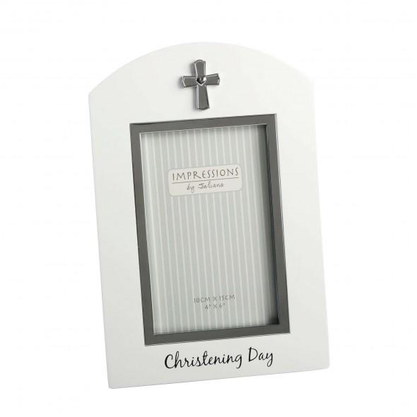 Rama foto eleganta Christening Day