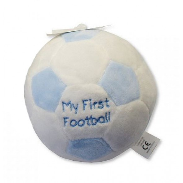 Minge de plus cu zornaitoare My First Football