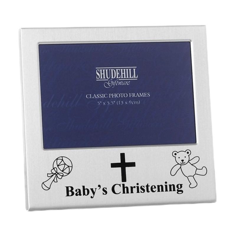 Rama foto vesela pentru botez Baby's Christening