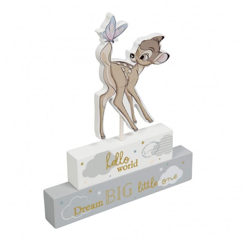 Disney Magical Beginnings - Placuta cu mesaj Bambi krbaby.ro