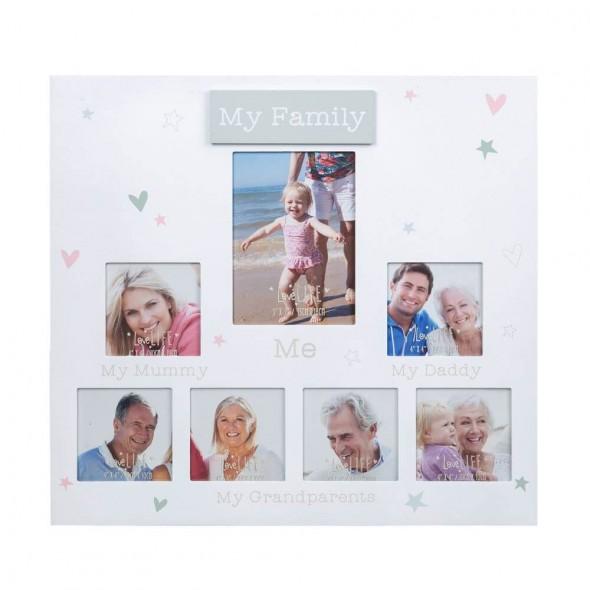Rama foto colaj pentru familie