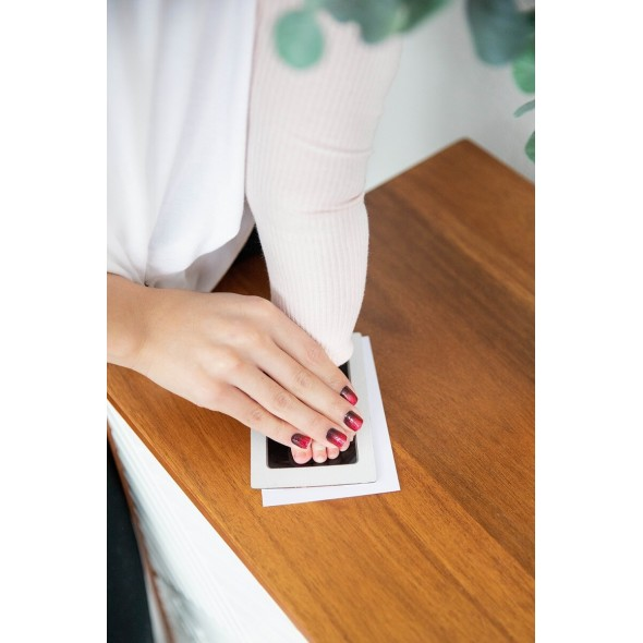 Pearhead - Rama foto cu amprenta si litere pentru personalizare