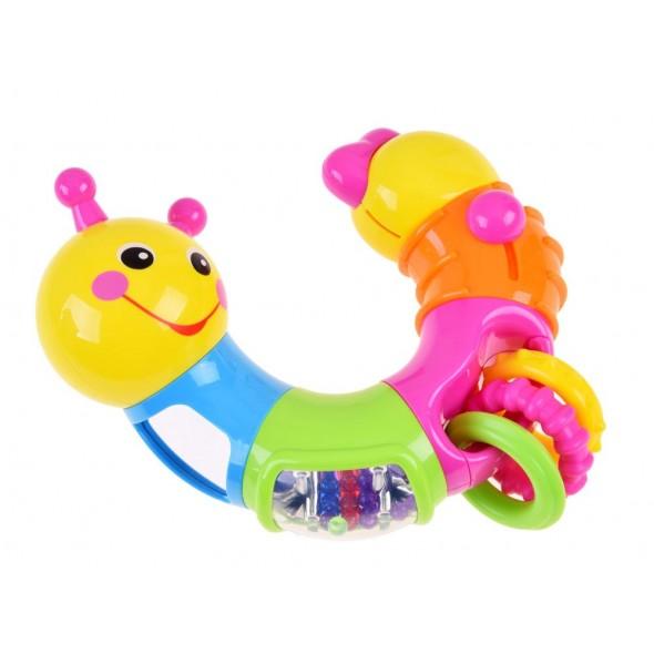 Jucarie interactiva pentru bebelusi omida Twist - Hola Toys