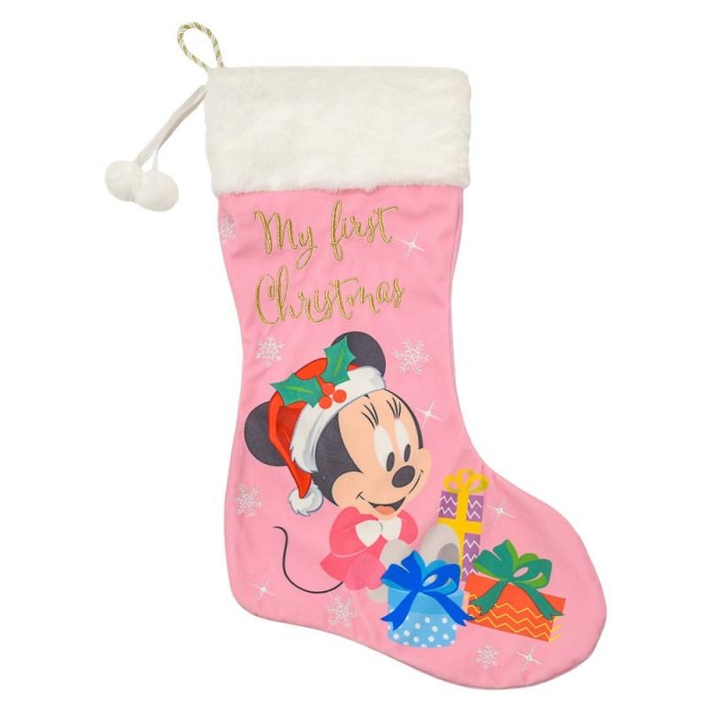 Cizmulita pentru cadouri First Christmas Minnie