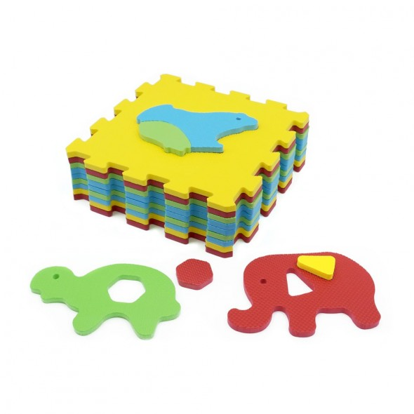 Covoras puzzle animale Ludi
