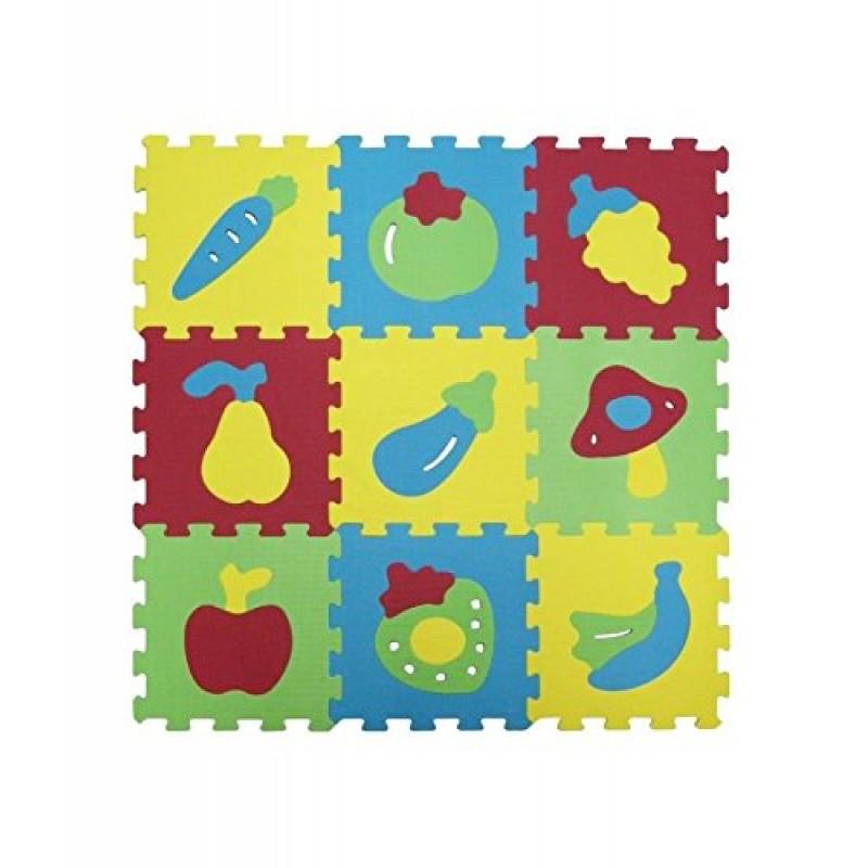Covoras puzzle Fructe Ludi krbaby.ro