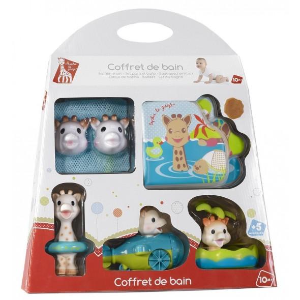 Set jucarii pentru baie Girafa Sophie Vulli