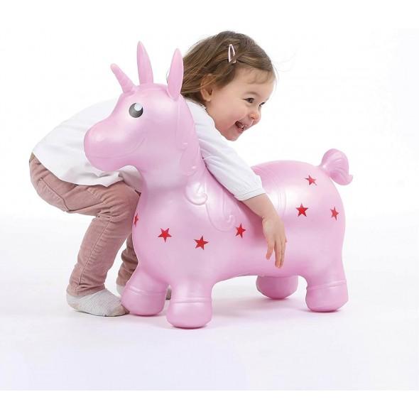 Unicorn saltaret Roz Ludi krbaby.ro
