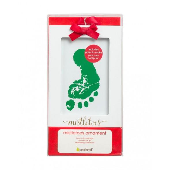 Pearhead - Kit decoratiune Craciun cu amprenta bebe