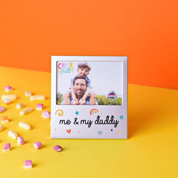 Rama foto din aluminiu me and my daddy