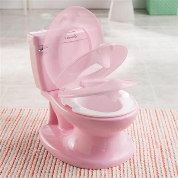Olita cu sunete My Size Potty Pink Summer Infant