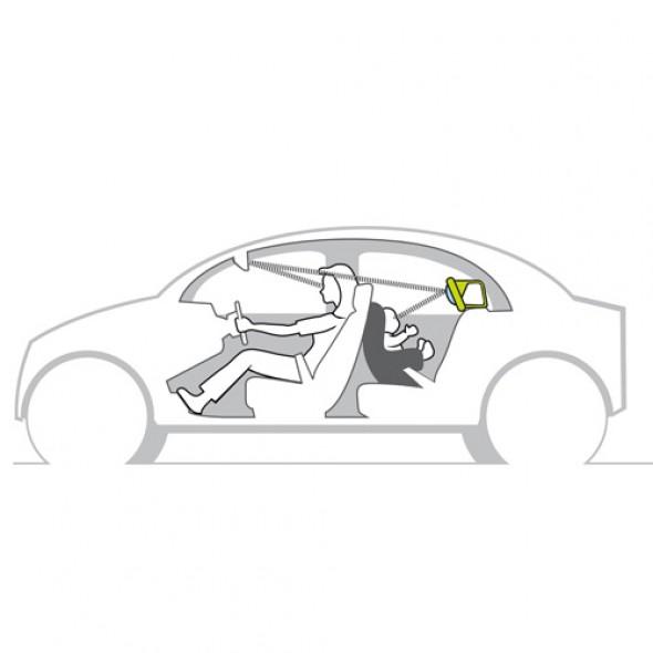 Jucarie auto Koala cu oglinda auto retrovizoare Taf Toys