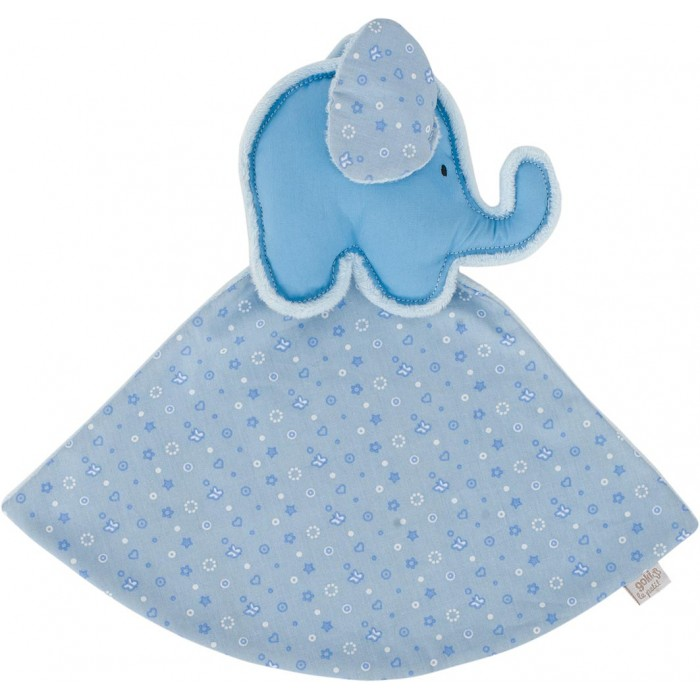 Jucarie mini paturica elefantel bleu Goki