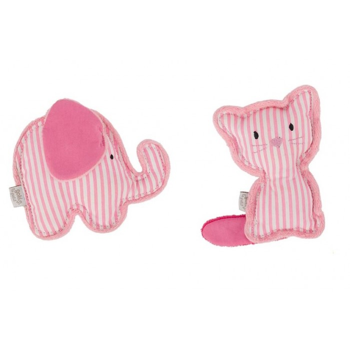 Jucarie zornaitoare animalut roz Goki
