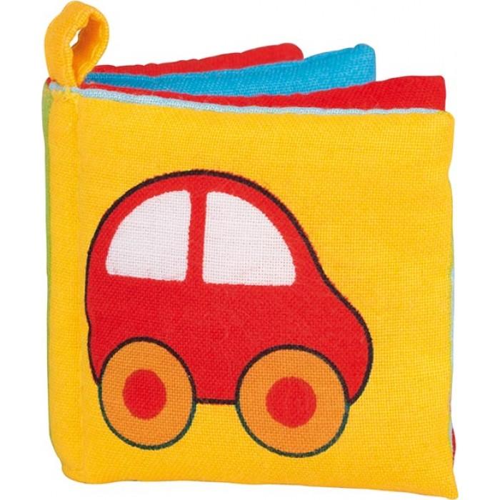 Mini carticica textila pentru bebelusi Goki