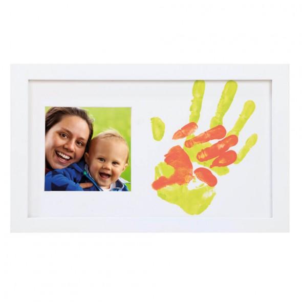 Happy Hands - Rama foto cu amprente mama si bebe
