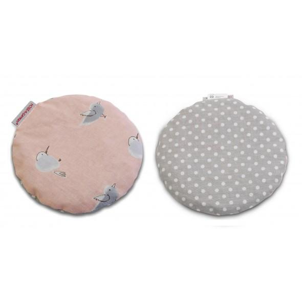 Pernuta anticolici cu samburi de cirese model pasarele si puncte Hobea