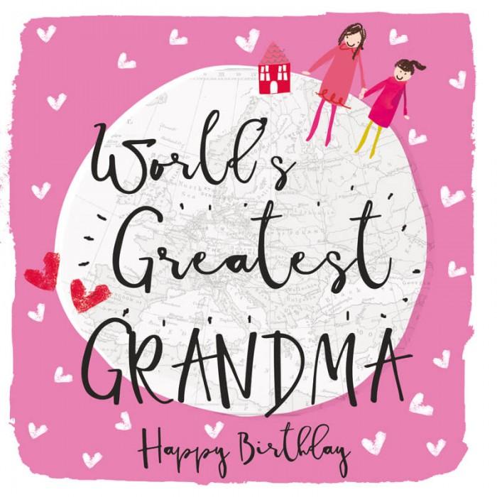 Felicitare pentru cea mai buna bunica
