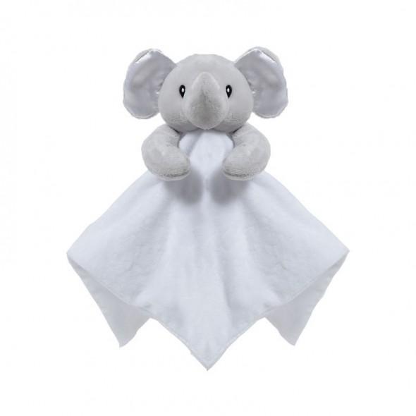 Jucarie cu paturica elefantel Soft Touch