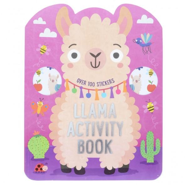 Carte cu activitati pentru copii Lama