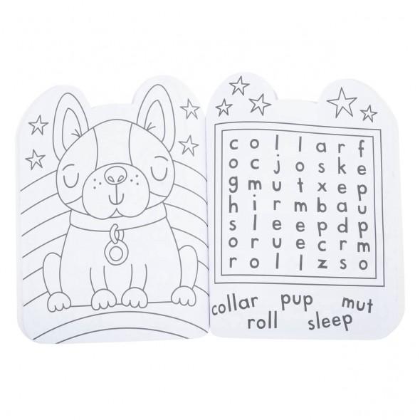 Carte cu activitati pentru copii Puppy