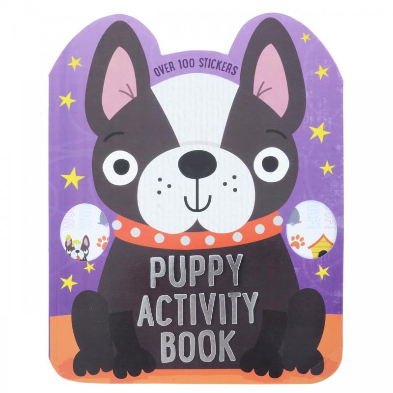 Carte cu activitati pentru copii Puppy krbaby.ro