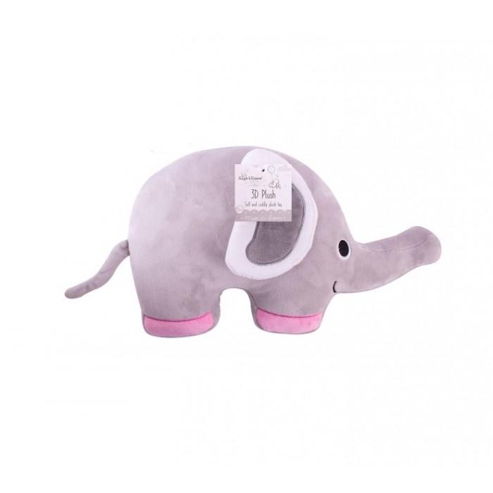 Hugs and Kisses - Jucarie bebelusi pernuta elefantel roz