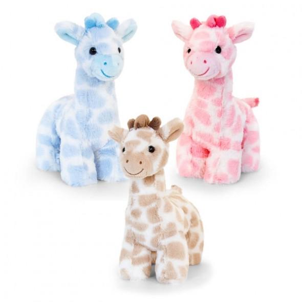 Keel Toys - Jucarie de plus girafa
