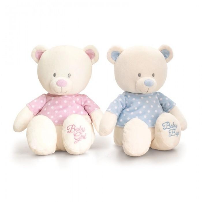 Keel Toys - Ursulet din plus cu tricou 25 cm