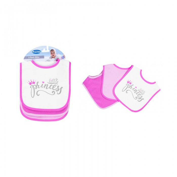 Set 3 bavete pentru fetite Princess